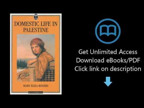 Domestic Life In Palestine (KPI paperbacks)
