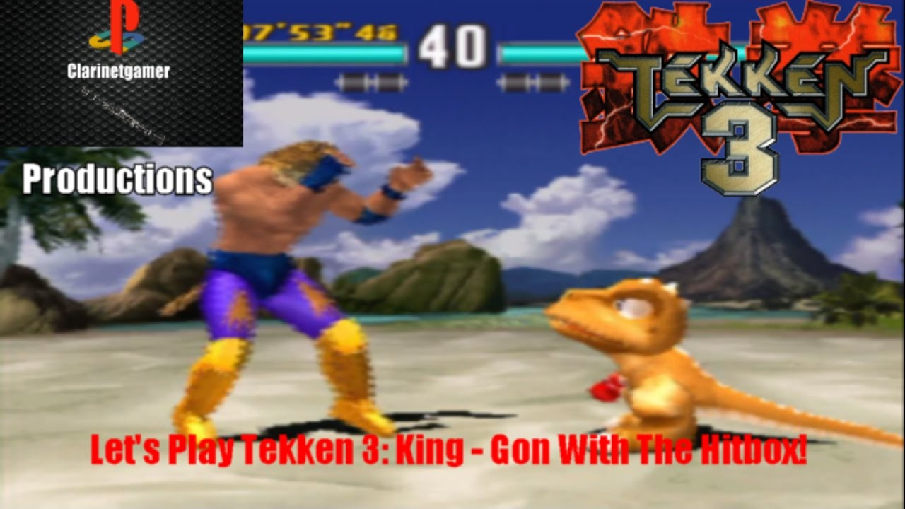 Let S Play Tekken 3 King Gon With The Hitbox Youtube