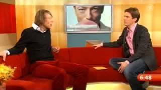 Jochen Distelmeyer (im Frühstücksfernsehen am 10.11.2009, Teil 1)