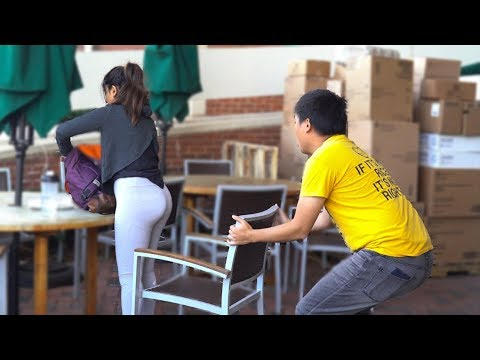 Chair Pulling Prank in Birmingham 2!!!