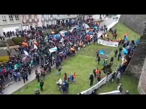 Policías nacionales y guardias civiles exigen equiparación salarial en Lugo