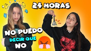 24 HOURS SAYING YES TO EVERYTHING to my SISTER😱 I CAN'T SAY NO! MY WORST DAY😤 * Mellizas Channel