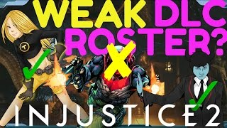 Download lagu Injustice 2 LEAKED DLC Character Roster Review My Wishlist MP3