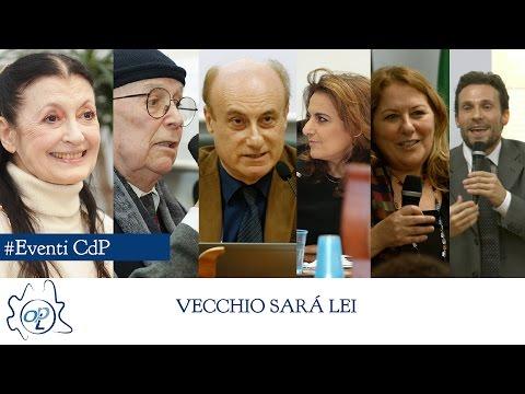 Conferenza Vecchio sarà Lei - RIASSUNTO - con Carla Fracci