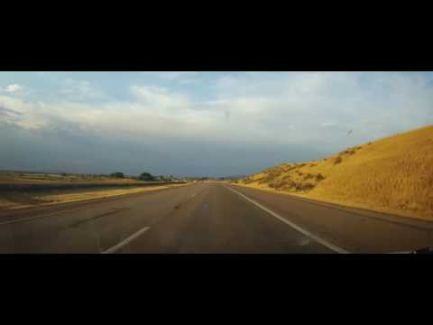 Driving from Pocatello, ID to Idaho Falls on Interstate 15