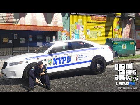 LSPDFR #567 - SERGEANT PATROL (GTA 5 REAL LIFE POLICE PC MOD)SLICKTOP TAURUS