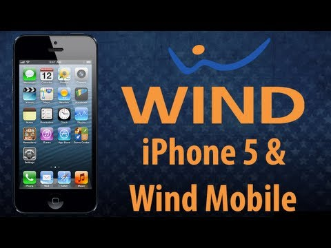 iPhone 5 Working on Wind Mobile Network
