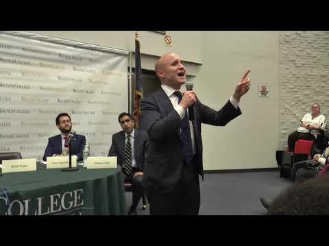 April 2018 NY CD 11 Democratic primary debate