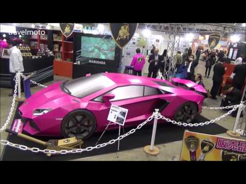 Lamborghini Made By Carton Boxes In Japan