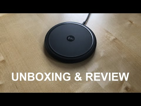 Mophie Wireless Charger Unboxing & Review!