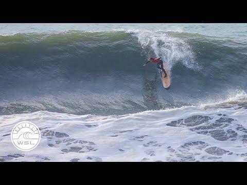2018 Longboard Pro Espinho scores heavy surf in Portugal