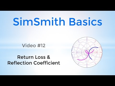 #20: Reflection Coefficient and Return Loss (Basics 12)