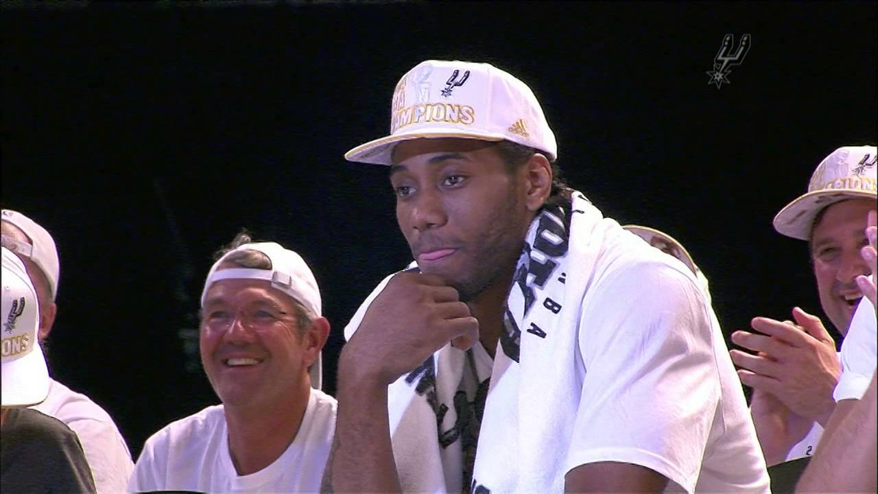 Calm down, Spurs fans: Kawhi Leonard's braids are alive and well