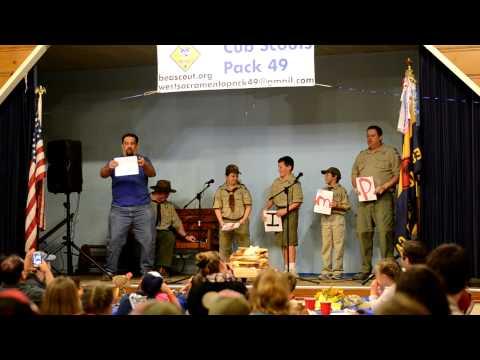 Spongebob Campfire song - Cub Scout Style