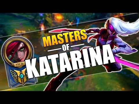 MASTERS OF KATARINA | INSANE PENTAKILLS MONTAGE | League of Legends