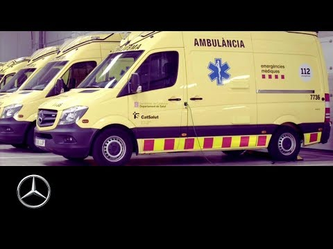 How to operate a Mercedes-Benz van fleet: Falck VL Barcelona