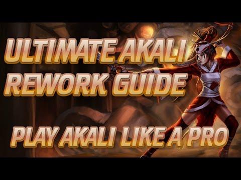 AKALI SEASON 7 GUIDE - ULTIMATE TOP/MID REWORK AKALI GUIDE - Professor Akali