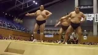 Grand Sumo autumn touring 松江総合体育館 Matsue general gymnasium O...