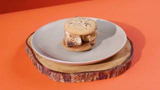 Smores Recipe with Chocolate Chip Cookies | Dessert by Otis Spunkmeyer