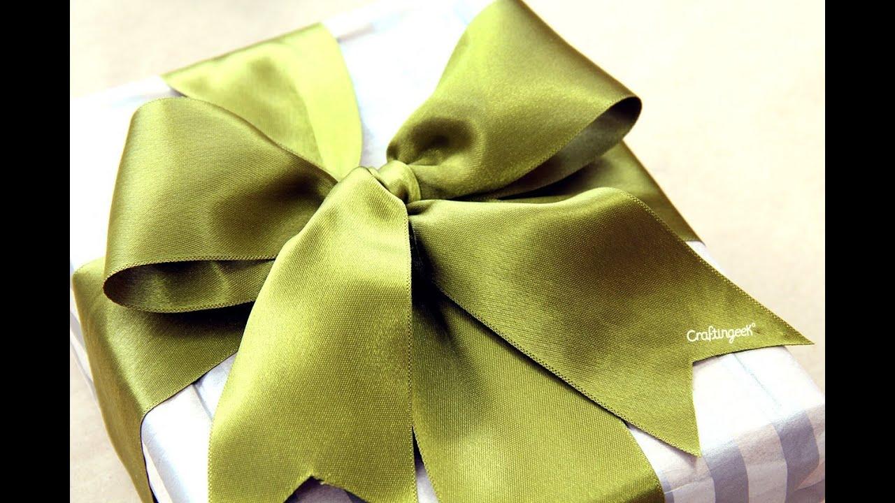 Como hacer mo o para regalo how to tie a gift bow youtube - Para hacer monos ...