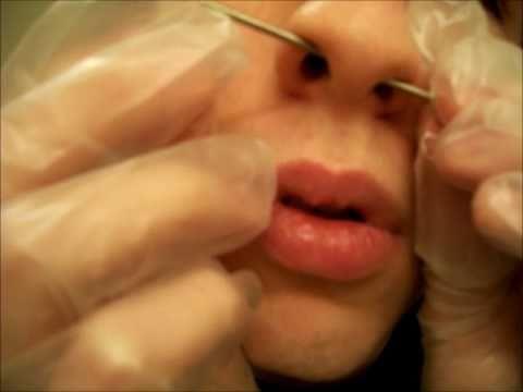 Piercing My Septum At 12g Youtube