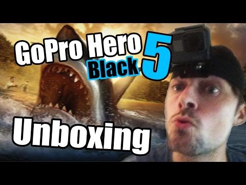 GoPro Hero 5 Black Unboxing