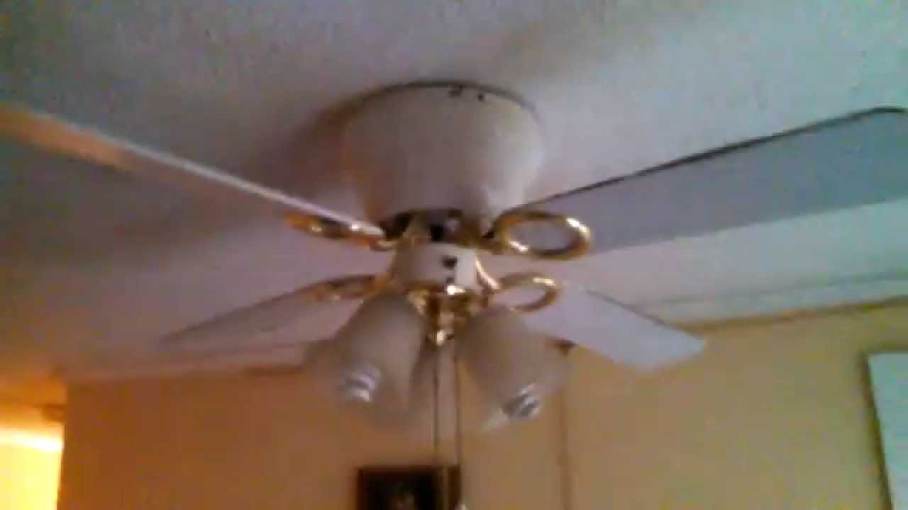 Harbor Breeze Cheshire 42 Quot Hugger Ceiling Fan Youtube