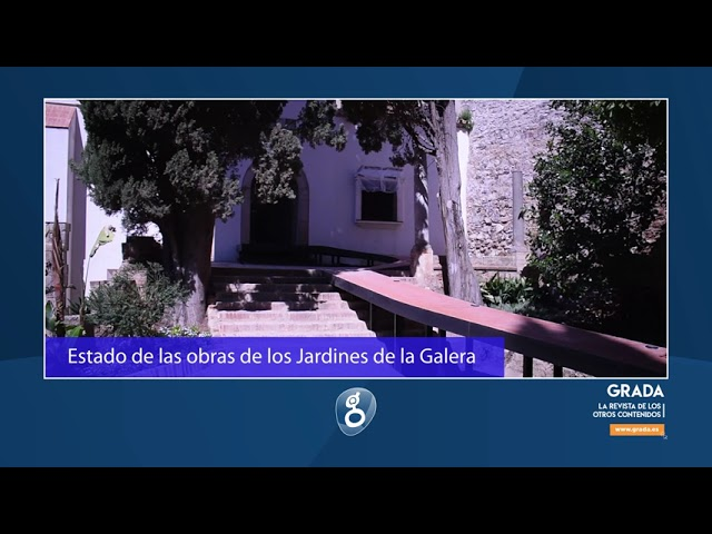 La reforma de los Jardines de la Galera de Badajoz concluirá a finales de mayo