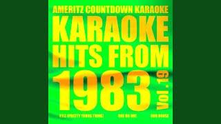 Ooh to Be Ah (In the Style of Kajagoogoo) (Karaoke Version)