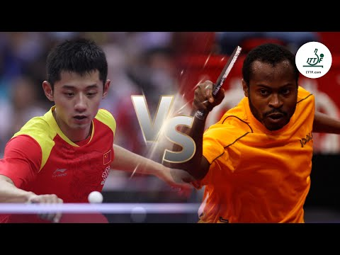 FULL MATCH - Zhang Jike vs Quadri Aruna (2014) | ITTF Men's World Cup