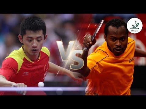 FULL MATCH - Zhang Jike Vs Quadri Aruna (2014) | ITTF Men's World Cup