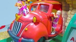 Скай Щенячий Патруль новая игрушка и детская площадка Skay Paw Patrol indoor playground for kids