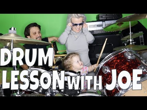 DRUM LESSON WITH JOE: VLOG 131