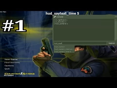 Counter Strike 1.6 Console Commands | Tutorial - 1