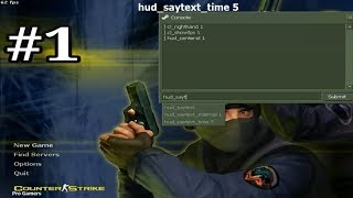 Counter Strike 1 6 console commands Tutorial 1