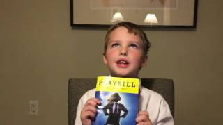 Iain reviews Matilda (Broadway) 11/12/2016