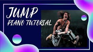 How to play Jump - Van Halen Piano tutorial