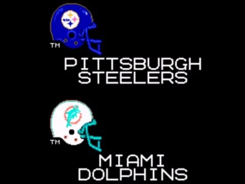 Tecmo Super Bowl 2004 (Steelers vs. Dolphins)