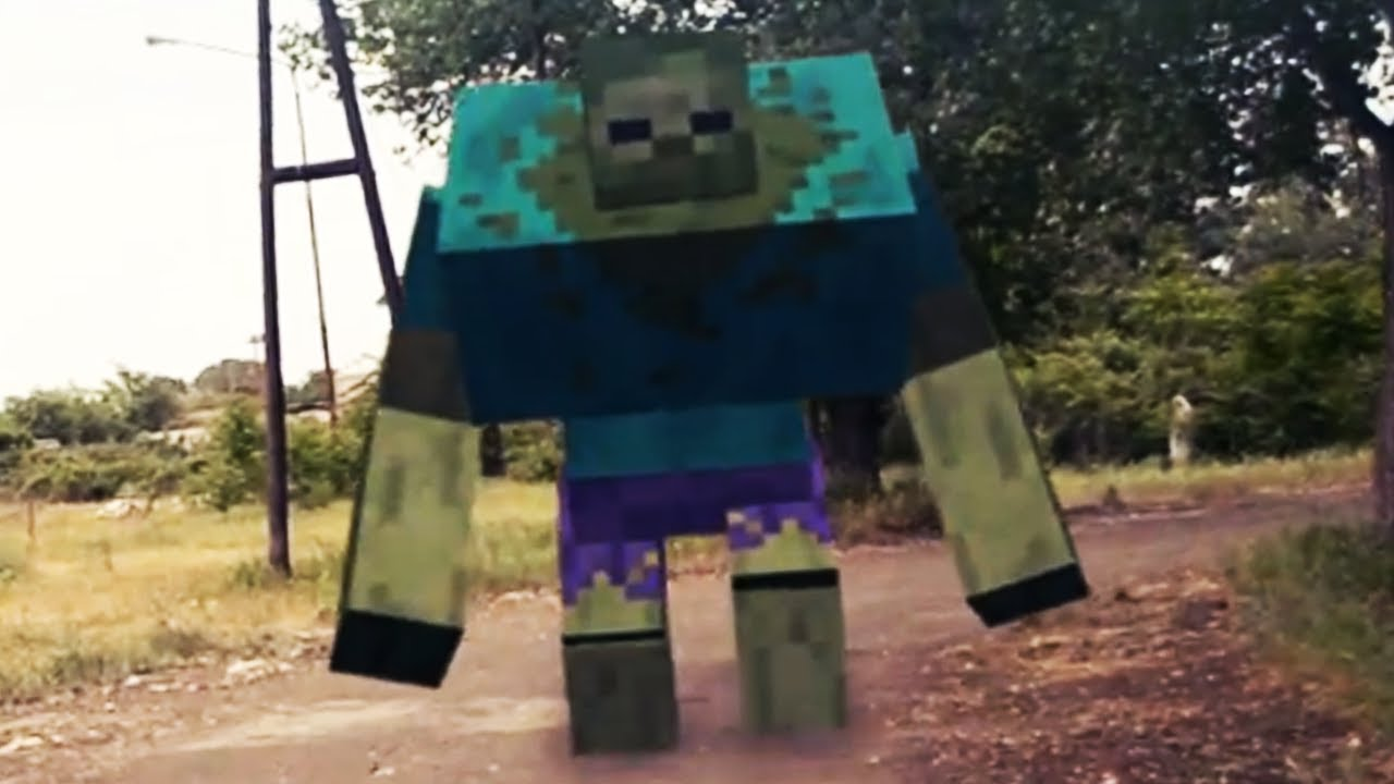 Minecraft Mods in Real Life YouTube