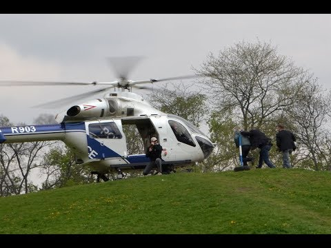 McDonnell Douglas MD-902 VIP rescue demonstration at Police Day 2017, Budapest