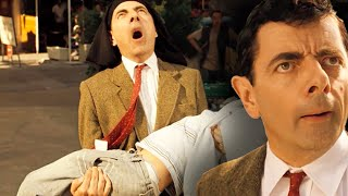 BUSKING Bean 🎸| Bean Movie | Funny Clips | Mr Bean Official