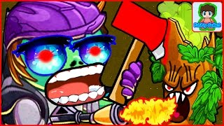 Игра Зомби против Растений  Герои от Фаника Plants vs zombies Heroes 19
