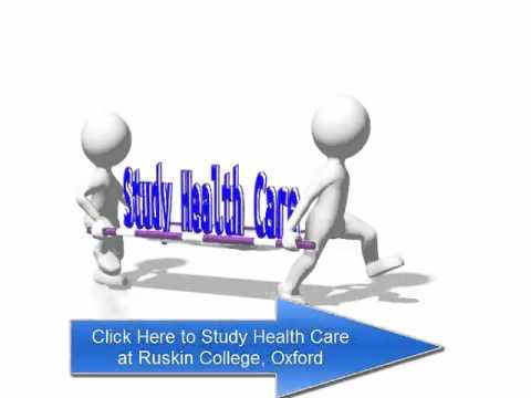 Study for Health Professions at Ruskin College, Oxford