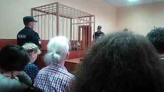 Мова Юлія Бояршинова в суді під час збору зразків голосу.