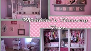 Maddie's Nursery Tour! ~pink & Grey Princess Themed~