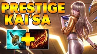 NEW Prestige Kai'Sa ADC!!! - League of Legends - Full Gameplay Commentary