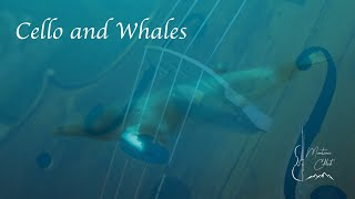 """""""Whale Song"""" Cello and Whales, Dolphin sounds.  432 hz Sleep music and Relaxation"""