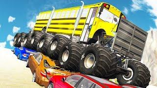 Beamng drive - Monster Truck Crashes #5