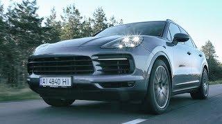 Porsche Сayenne S 2018 - Тест-драйв