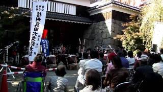 11月日より開催されている 信州上田城けやき並木紅葉まつりの一環とし...